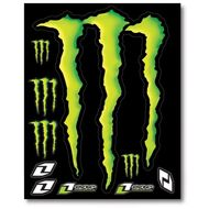 Planche stickers  d�co ONE MONSTER (G)