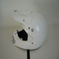Casque scorpion blanc VX17 air