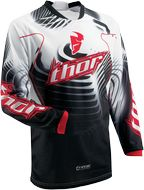 Maillot THOR PHASE VENTED WARP rouge